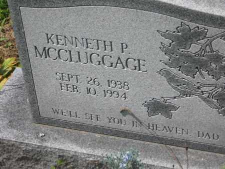 MCCLUGGAGE, KENNETH P. - Holmes County, Ohio | KENNETH P. MCCLUGGAGE - Ohio Gravestone Photos