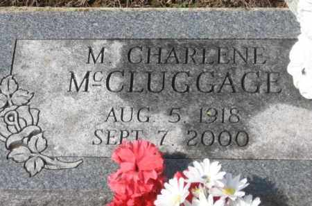 MCCLUGGAGE, M. CHARLENE - Holmes County, Ohio | M. CHARLENE MCCLUGGAGE - Ohio Gravestone Photos