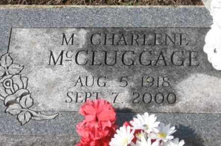 HOSKIN MCCLUGGAGE, M. CHARLENE - Holmes County, Ohio | M. CHARLENE HOSKIN MCCLUGGAGE - Ohio Gravestone Photos