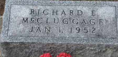 MCCLUGGAGE, RICHARD E. - Holmes County, Ohio | RICHARD E. MCCLUGGAGE - Ohio Gravestone Photos