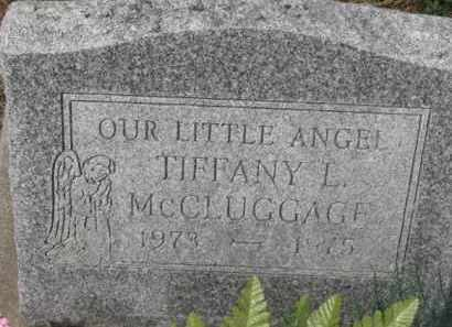 MCCLUGGAGE, TIFFANY L. - Holmes County, Ohio | TIFFANY L. MCCLUGGAGE - Ohio Gravestone Photos