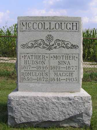GRIFFITH MCCOLLOUGH, SINA - Holmes County, Ohio | SINA GRIFFITH MCCOLLOUGH - Ohio Gravestone Photos