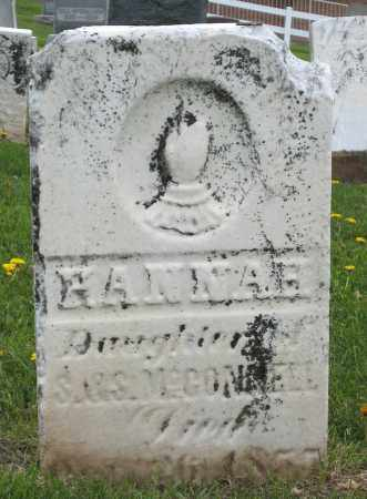 MCCONNELL, HANNAH - Holmes County, Ohio | HANNAH MCCONNELL - Ohio Gravestone Photos