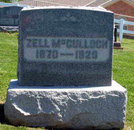 MCCULLOCH, ZELL - Holmes County, Ohio | ZELL MCCULLOCH - Ohio Gravestone Photos