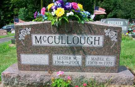MCCULLOUGH, LESTER W. - Holmes County, Ohio | LESTER W. MCCULLOUGH - Ohio Gravestone Photos
