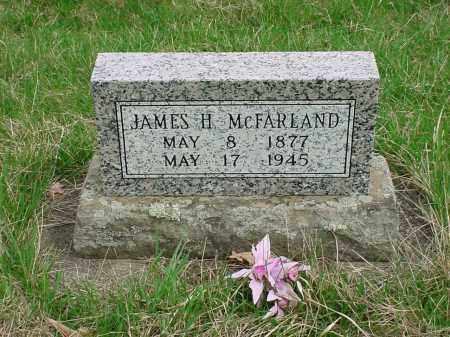 MCFARLAND, JAMES H - Holmes County, Ohio | JAMES H MCFARLAND - Ohio Gravestone Photos