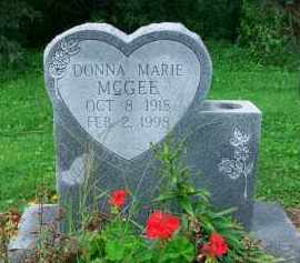 MCGEE, DONNA MARIE - Holmes County, Ohio | DONNA MARIE MCGEE - Ohio Gravestone Photos