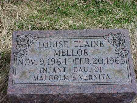 MELLOR, LOUISE ELAINE - Holmes County, Ohio | LOUISE ELAINE MELLOR - Ohio Gravestone Photos