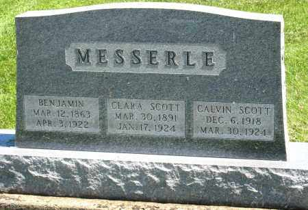 MESSERLE, CLARA SCOTT - Holmes County, Ohio | CLARA SCOTT MESSERLE - Ohio Gravestone Photos