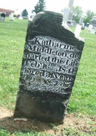 MIDDLETON, KATHARINE - Holmes County, Ohio | KATHARINE MIDDLETON - Ohio Gravestone Photos