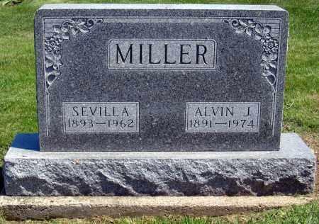 MILLER, SEVILLA - Holmes County, Ohio | SEVILLA MILLER - Ohio Gravestone Photos