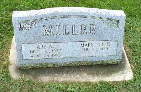 MILLER, MARY ELLEN - Holmes County, Ohio | MARY ELLEN MILLER - Ohio Gravestone Photos