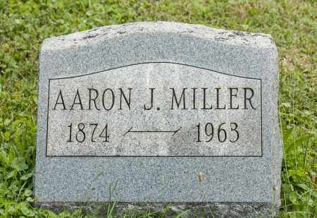 MILLER, AARON J. - Holmes County, Ohio | AARON J. MILLER - Ohio Gravestone Photos