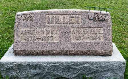 MILLER, ABRAHAM E. - Holmes County, Ohio | ABRAHAM E. MILLER - Ohio Gravestone Photos