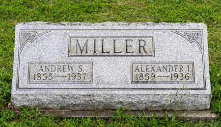 MILLER, ANDREW S. - Holmes County, Ohio | ANDREW S. MILLER - Ohio Gravestone Photos