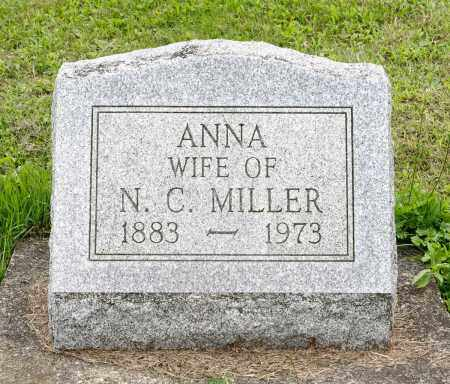 HERSHBERGER MILLER, ANNA - Holmes County, Ohio | ANNA HERSHBERGER MILLER - Ohio Gravestone Photos