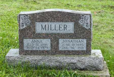 HOCHSTETLER MILLER, ANNA - Holmes County, Ohio | ANNA HOCHSTETLER MILLER - Ohio Gravestone Photos