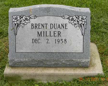 MILLER, BRENT DUANE - Holmes County, Ohio | BRENT DUANE MILLER - Ohio Gravestone Photos