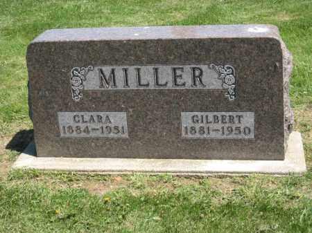 MILLER, GILBERT - Holmes County, Ohio | GILBERT MILLER - Ohio Gravestone Photos