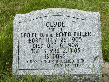 MILLER, CLYDE - Holmes County, Ohio | CLYDE MILLER - Ohio Gravestone Photos