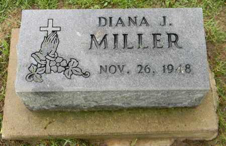 MILLER, DIANA J. - Holmes County, Ohio | DIANA J. MILLER - Ohio Gravestone Photos