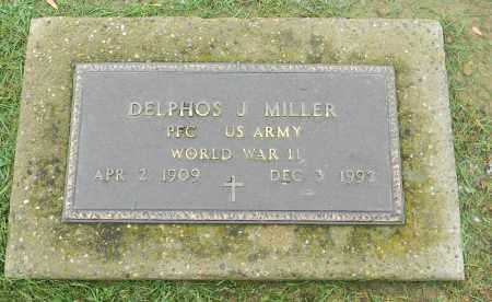 MILLER, DELPHOS J. - Holmes County, Ohio | DELPHOS J. MILLER - Ohio Gravestone Photos