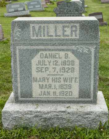 TROYER MILLER, MARY - Holmes County, Ohio | MARY TROYER MILLER - Ohio Gravestone Photos