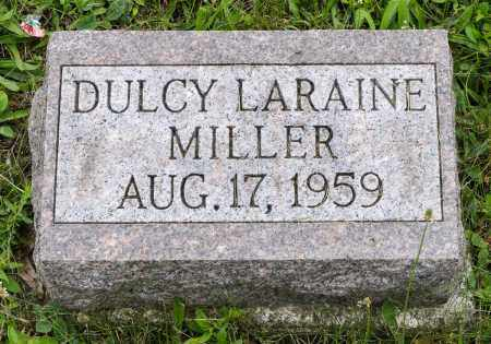 MILLER, DULCY LARAINE - Holmes County, Ohio | DULCY LARAINE MILLER - Ohio Gravestone Photos