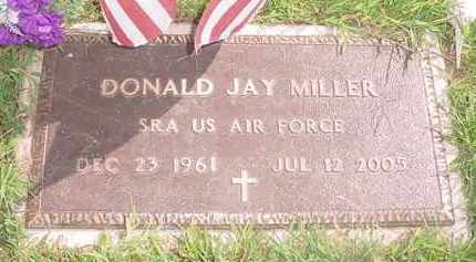 MILLER, DONALD JAY - Holmes County, Ohio | DONALD JAY MILLER - Ohio Gravestone Photos