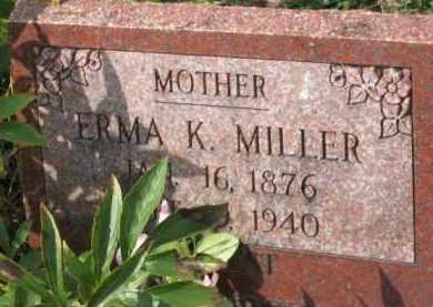 MILLER, ERMA K. - Holmes County, Ohio | ERMA K. MILLER - Ohio Gravestone Photos