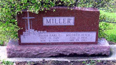 MILLER, MILDRED ALICE - Holmes County, Ohio | MILDRED ALICE MILLER - Ohio Gravestone Photos