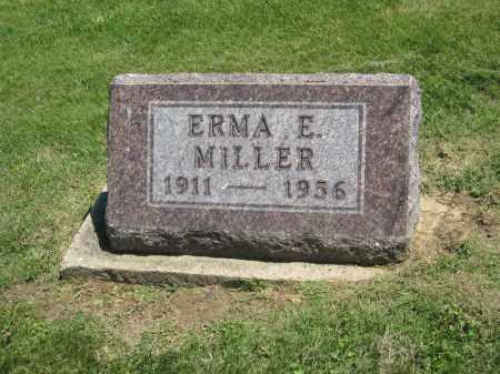 MILLER, ERMA E. - Holmes County, Ohio | ERMA E. MILLER - Ohio Gravestone Photos