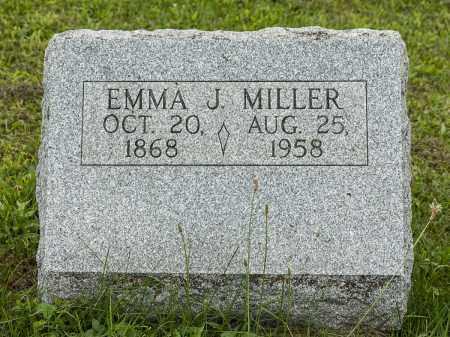 MILLER, EMMA J. - Holmes County, Ohio | EMMA J. MILLER - Ohio Gravestone Photos