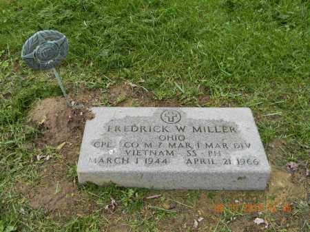 MILLER, FREDRICK W. - Holmes County, Ohio | FREDRICK W. MILLER - Ohio Gravestone Photos