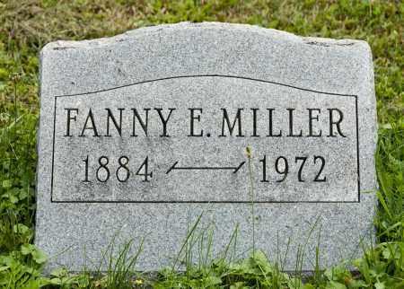 MILLER, FANNY E. - Holmes County, Ohio | FANNY E. MILLER - Ohio Gravestone Photos