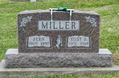 HOSTETLER MILLER, FERN - Holmes County, Ohio | FERN HOSTETLER MILLER - Ohio Gravestone Photos