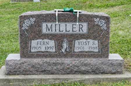 MILLER, FERN - Holmes County, Ohio | FERN MILLER - Ohio Gravestone Photos