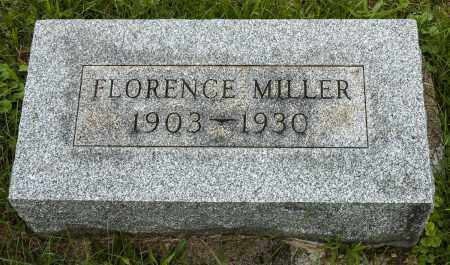 GERBER MILLER, FLORENCE - Holmes County, Ohio | FLORENCE GERBER MILLER - Ohio Gravestone Photos