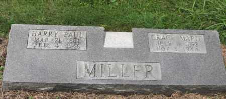 MILLER, HARRY PAUL - Holmes County, Ohio | HARRY PAUL MILLER - Ohio Gravestone Photos