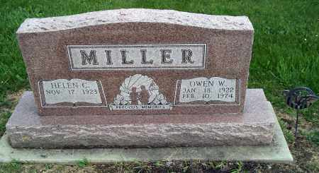 MILLER, OWEN W - Holmes County, Ohio | OWEN W MILLER - Ohio Gravestone Photos