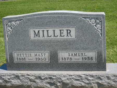 MILLER, HETTIE - Holmes County, Ohio | HETTIE MILLER - Ohio Gravestone Photos