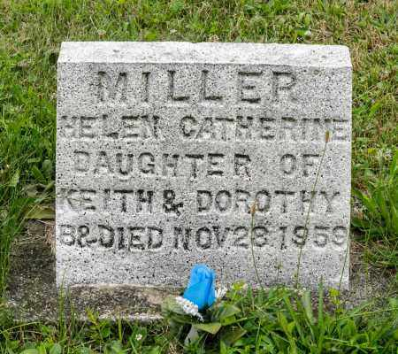 MILLER, HELEN CATHERINE - Holmes County, Ohio | HELEN CATHERINE MILLER - Ohio Gravestone Photos