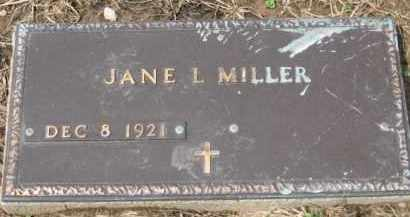 MILLER, JANE L. - Holmes County, Ohio | JANE L. MILLER - Ohio Gravestone Photos