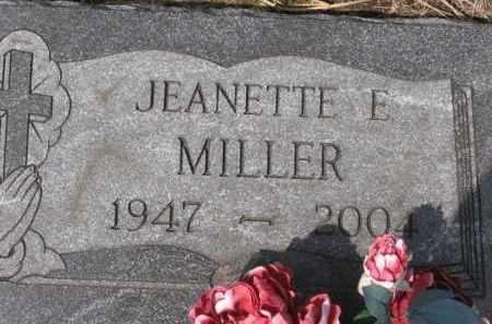 MILLER, JEANETTE E. - Holmes County, Ohio | JEANETTE E. MILLER - Ohio Gravestone Photos