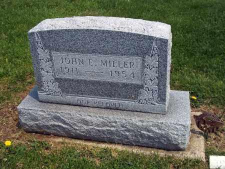 MILLER, JOHN E - Holmes County, Ohio | JOHN E MILLER - Ohio Gravestone Photos
