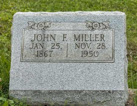 MILLER, JOHN F. - Holmes County, Ohio | JOHN F. MILLER - Ohio Gravestone Photos