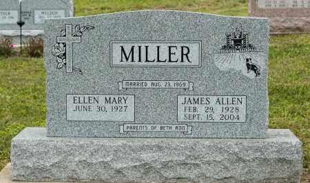 MILLER, JAMES ALLEN - Holmes County, Ohio | JAMES ALLEN MILLER - Ohio Gravestone Photos