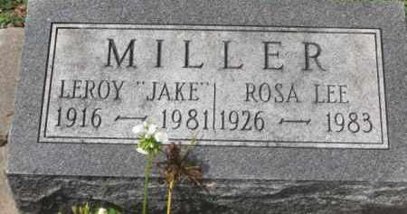 "MILLER, LEROY ""JAKE"" - Holmes County, Ohio 