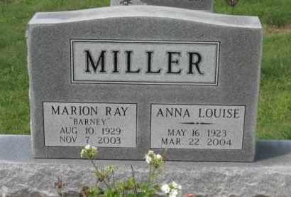 MILLER, ANNA LOUISE - Holmes County, Ohio | ANNA LOUISE MILLER - Ohio Gravestone Photos