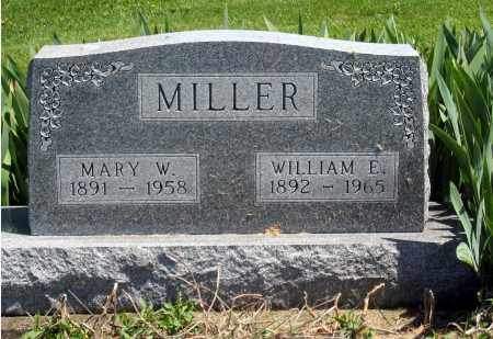 MILLER, MARY W. - Holmes County, Ohio | MARY W. MILLER - Ohio Gravestone Photos
